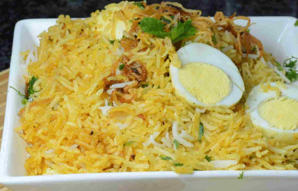 Easy Egg Pulao
