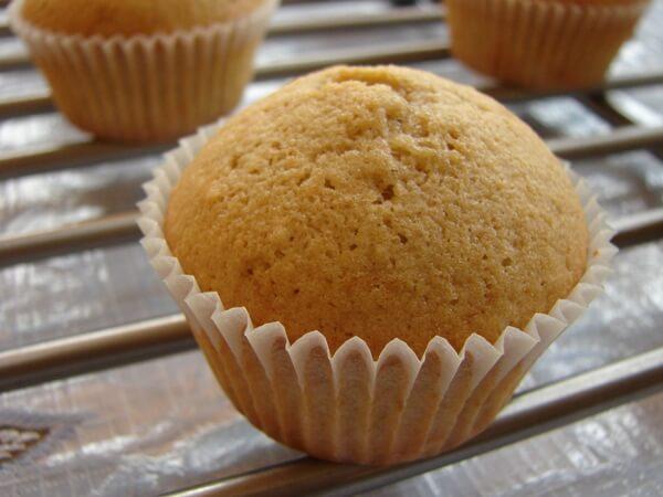 Easy Vanilla Cup Cakes