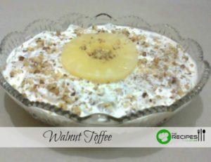 Easy Walnut Toffee Recipe