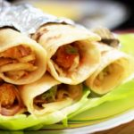 How to Make Chicken Roll Paratha