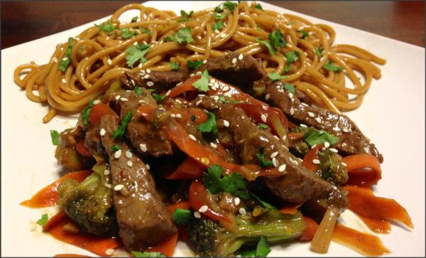 Best Szechuan Beef Stir Fry