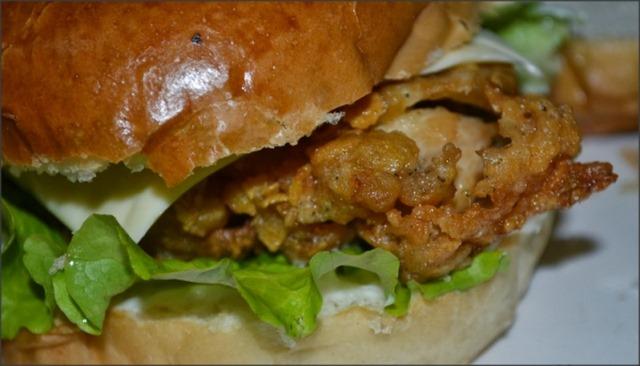 Spicy Zinger Burger