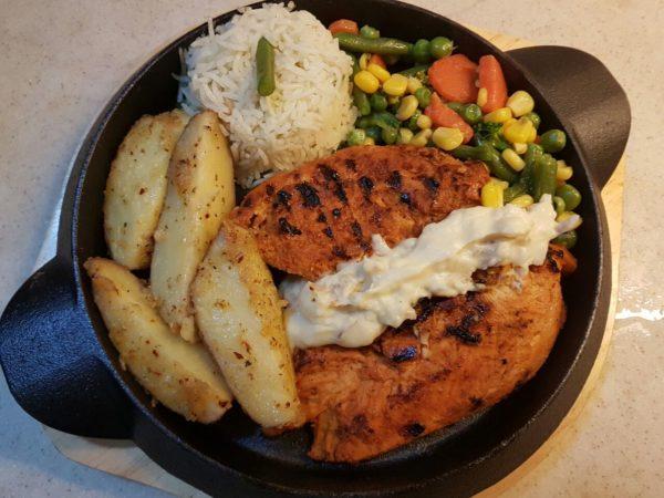 Grilled chicken steak recipe easy chicken steak chicken steak recipe by chef zakir forumfinder Choice Image
