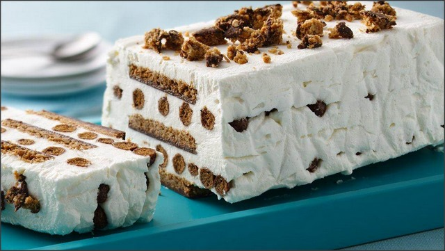 Chocolate Malt Ice Cream Cake