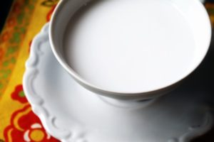 Coconut Milk with Dried Coconut