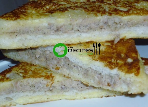 Easy French chicken sandwich