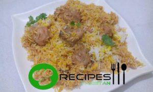Chicken Tikka Biryani By Shireen Anwer