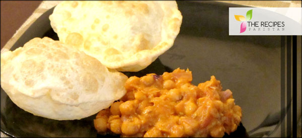 Homemade Channa Bhatura