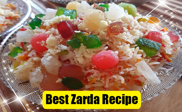Shahi Zarda Recipe