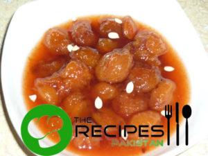 Aloo Bukhara Chutney Recipe