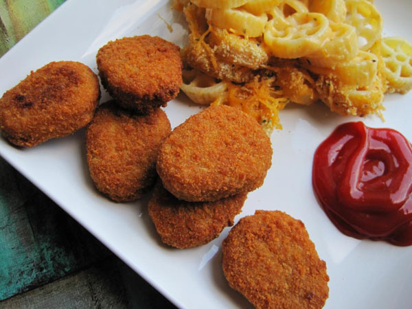 Chicken Cheese Nuggets