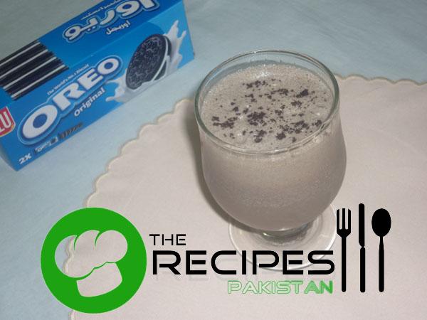 Oreo Cookies Shake - English and Urdu Recipe