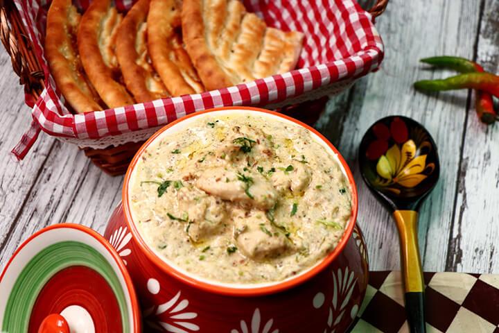Chicken White Korma Recipe in English