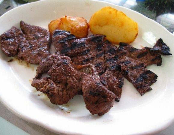 Delicious Grilled Liver