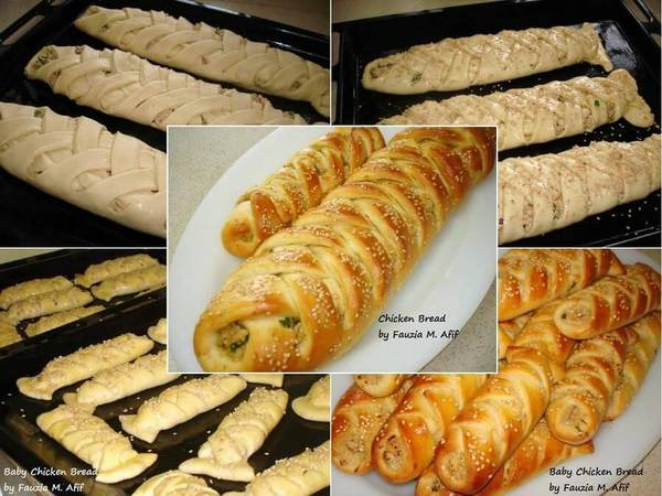 Baked Chicken Bread