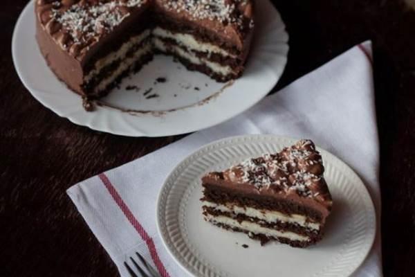 Chocolate Coconut Bounty Cake