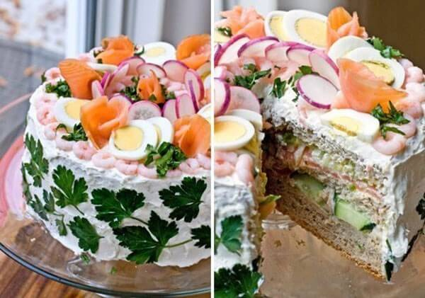Party Sandwich Cake