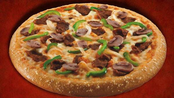 Cheese-Steak-Pizza