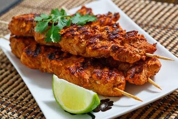 Quick Malai Seekh Kabab