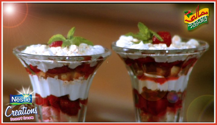 Strawberry Chantilly Dessert