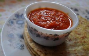 Cumin and Tomato Dip