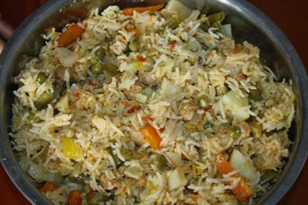 Chinese Vegetable Rice