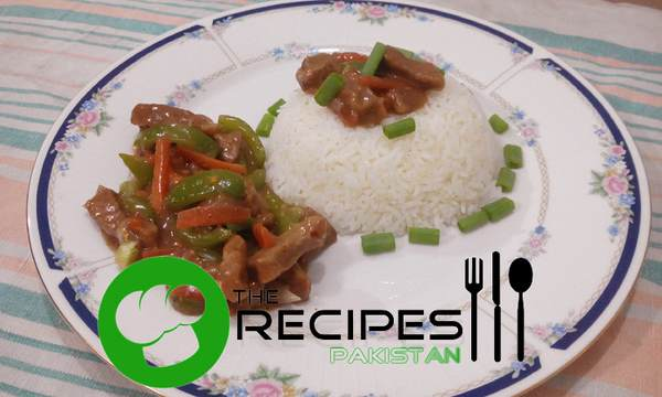 Beef with Stir Fry Vegetables