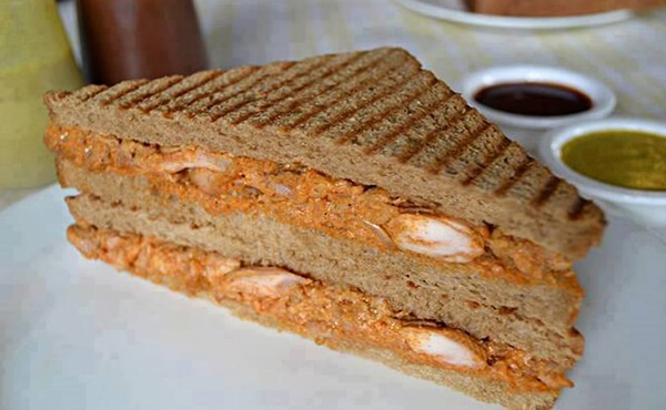 Chicken Tikka Sandwich Recipe