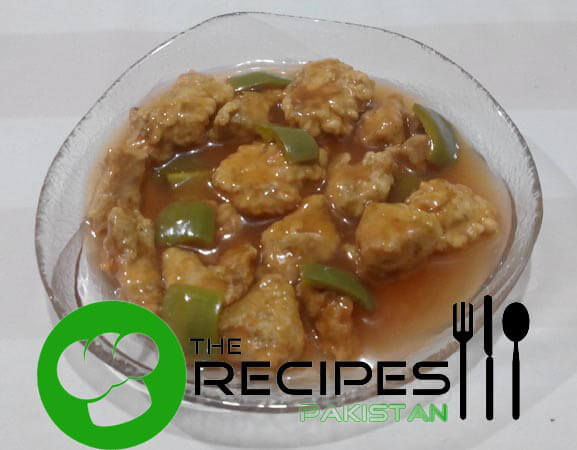 Crispy Chicken in Sweet and Sour Sauce