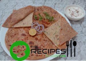Easy Chicken Tikka Paratha