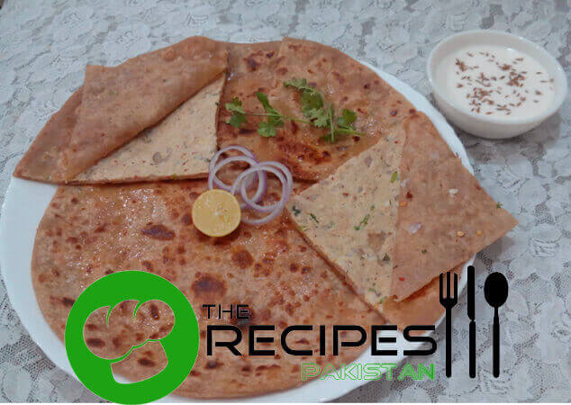 Easy Chicken Tikka Paratha