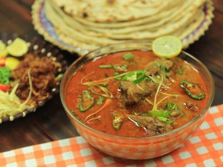 Homemade Chicken Nihari