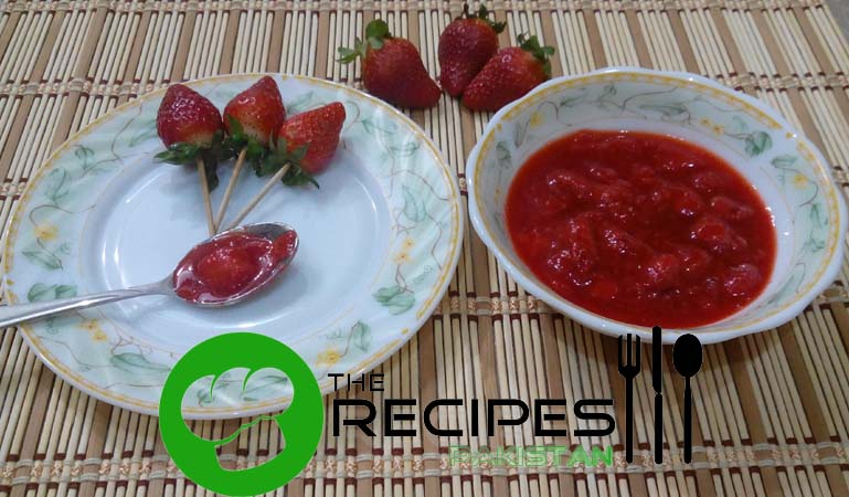 Quick Strawberry Compote