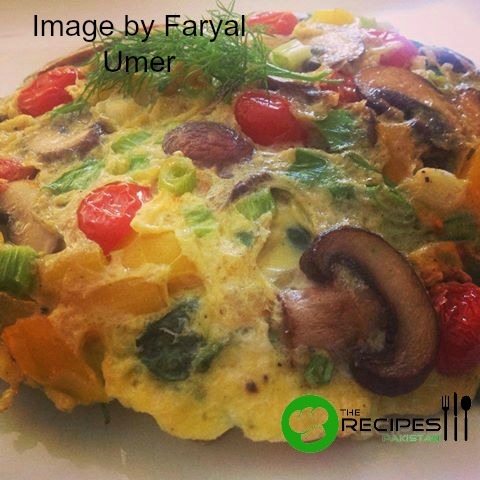 Healthy Spring Omelette