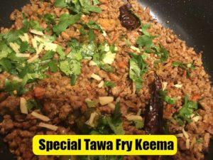 Easy Tawa Fry Keema Recipe