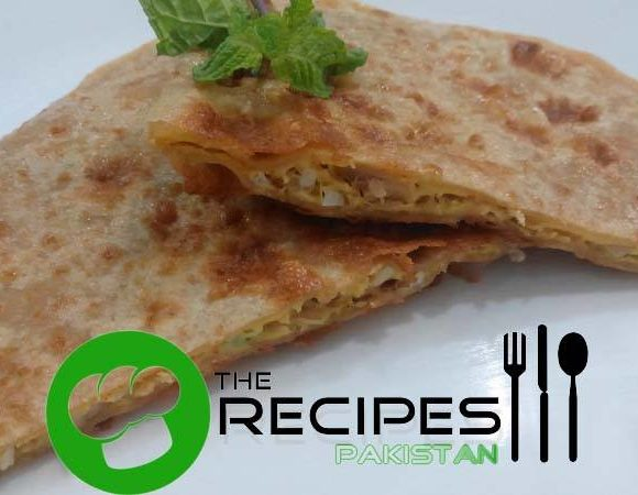 Egg and Cheese Paratha