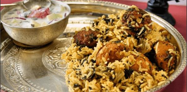 Meatball Biriyani