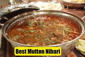 Mutton Nihari Recipe