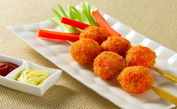 Chicken Cheese Balls Recipe