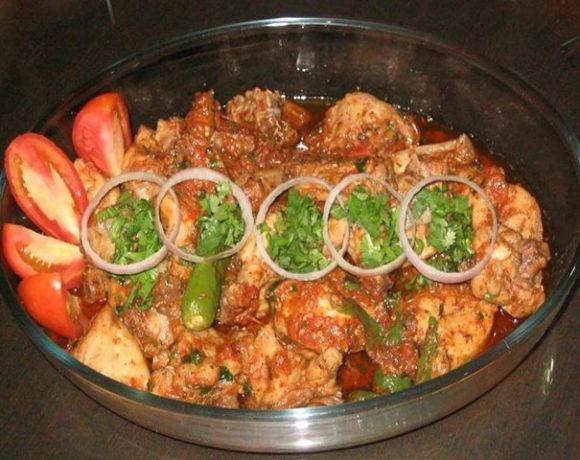 Lahori Chicken Karahi Recipe