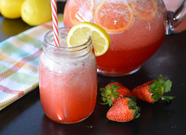Get Ultimate Strawberries Lemonade Taste