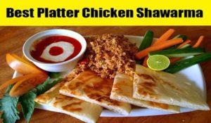 Platter Chicken Shawarma Recipe