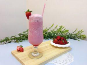 Strawberries and Crème Frappuccino