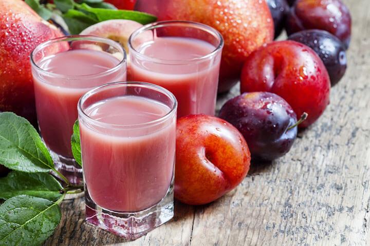 Quick Plum Juice Recipe