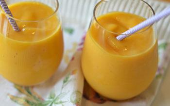 Quick Peach Mango Smoothie Recipe