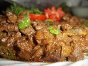 Beef Kaleji Recipe