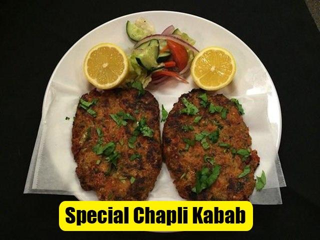Peshawari Chapli Kabab Recipe