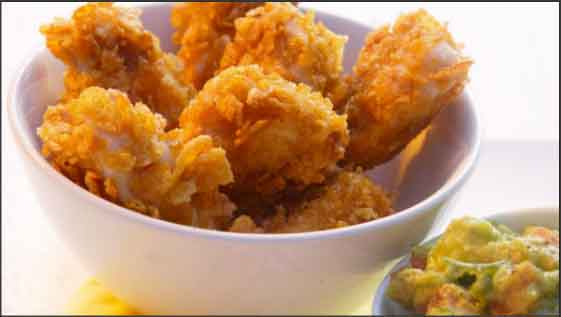Extra Crispy Chicken Poppers Recipe