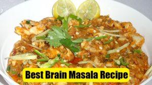 Easy Brain Masala Recipe