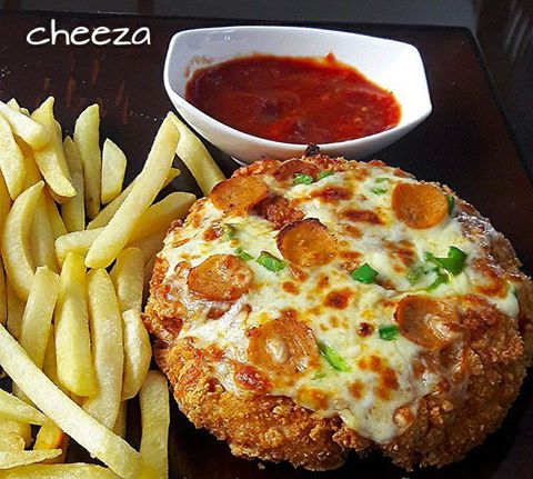 Easy KFC Chizza Recipe